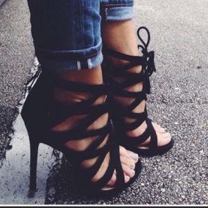 Sam & Libby Cheri lace up heels